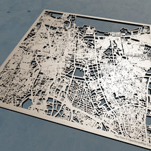Load image into Gallery viewer, Jakarta Indonesia - 3D Wooden Laser Cut Map | Unique Gift