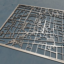 Load image into Gallery viewer, UNC Greensboro 3D Wooden Laser Cut Campus Map | Unique Gift