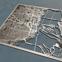 Load image into Gallery viewer, Miami, Florida - 3D Wooden Laser Cut Map | Unique Gift