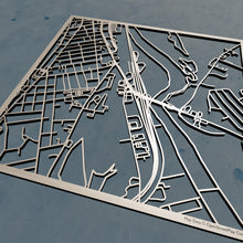 Load image into Gallery viewer, Granite State College 3D Wooden Laser Cut Campus Map - Silvan Art