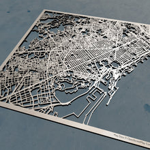 Load image into Gallery viewer, Barcelona Spain - 3D Wooden Laser Cut Map | Unique Gift