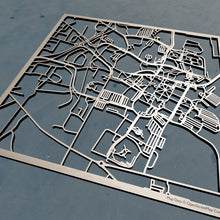 Load image into Gallery viewer, Mississippi State University 3D Wooden Laser Cut Campus Map