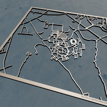 Load image into Gallery viewer, Bryant University 3D Wooden Laser Cut Map | Unique Gift - Silvan Art