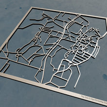 Load image into Gallery viewer, Bard College 3D Wooden Laser Cut Map | Unique Gift - Silvan Art