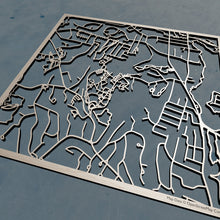 Load image into Gallery viewer, Assumption College 3D Wooden Laser Cut Campus Map | Unique Gift - Silvan Art