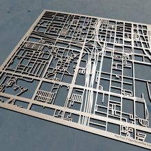 Load image into Gallery viewer, UIC University of Illinois at Chicago - 3D Wooden Laser Cut Campus Map | Unique Gift