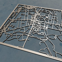 Load image into Gallery viewer, Amherst College 3D Wooden Laser Cut Campus Map | Unique Gift