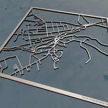 Load image into Gallery viewer, UMM University of Maine at Machias 3D Wooden Laser Cut Campus Map | Unique Gift - Silvan Art