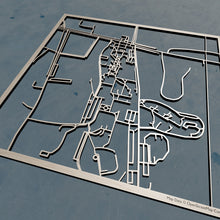 Load image into Gallery viewer, SUNY Morrisville 3D Wooden Laser Cut Campus Map | Unique Gift - Silvan Art