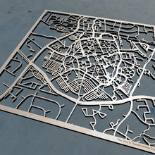 Load image into Gallery viewer, George Mason University GMU 3D Wooden Laser Cut Campus Map