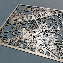 Load image into Gallery viewer, Islamabad Pakistan - 3D Wooden Laser Cut Map | Unique Gift