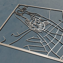 Load image into Gallery viewer, Penn State Altoona 3D Wooden Laser Cut Map | Unique Gift - Silvan Art