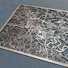 Load image into Gallery viewer, Glasgow Scotland - 3D Wooden Laser Cut Map | Unique Gift