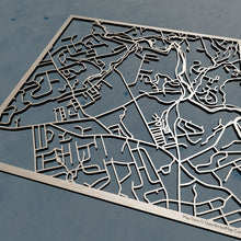 Load image into Gallery viewer, Neumann University 3D Wooden Laser Cut Map | Unique Gift - Silvan Art