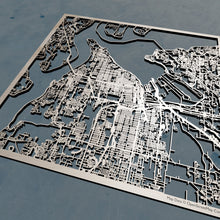 Load image into Gallery viewer, Tacoma, Washington - 3D Wooden Laser Cut Map | Unique Gift