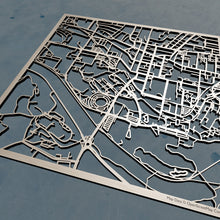 Load image into Gallery viewer, Ohio University 3D Wooden Laser Cut Campus Map | Unique Gift