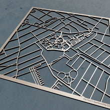 Load image into Gallery viewer, Seton Hall University 3D Wooden Laser Cut Campus Map - Silvan Art