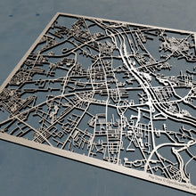 Load image into Gallery viewer, Warsaw Poland - 3D Wooden Laser Cut Map | Unique Gift
