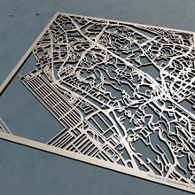 Load image into Gallery viewer, NUS National University of Singapore 3D Wooden Laser Cut Campus Map | Unique Gift - Silvan Art