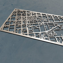 Load image into Gallery viewer, University of South Carolina 3D Wooden Laser Cut Campus Map | Unique Gift - Silvan Art