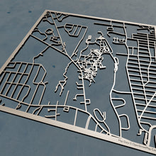 Load image into Gallery viewer, University of  Hartford 3D Wooden Laser Cut Campus Map | Unique Gift - Silvan Art
