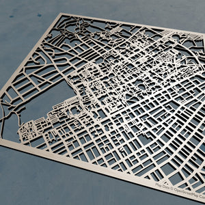 Penn State University Park (PSU) - 3D Wooden Laser Cut Campus Map | Unique Gift