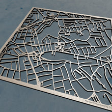 Load image into Gallery viewer, Western Connecticut State University 3D Wooden Laser Cut Campus Map | Unique Gift - Silvan Art