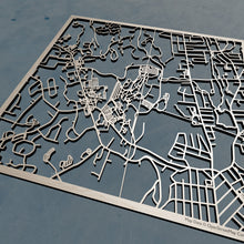 Load image into Gallery viewer, William Paterson University 3D Wooden Laser Cut Campus Map | Unique Gift - Silvan Art