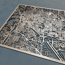 Load image into Gallery viewer, Tucson, Arizona - 3D Wooden Laser Cut Map | Unique Gift