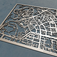 Load image into Gallery viewer, NTU Nanyang Technological University 3D Wooden Laser Cut Campus Map - Silvan Art