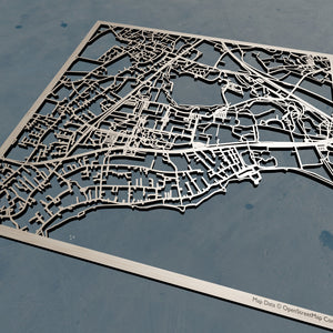 Ecole polytechnique fédérale de Lausanne (EPFL) 3D Wooden Laser Cut Campus Map | Unique Gift - Silvan Art