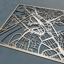 Load image into Gallery viewer, Hult International Business School 3D Wooden Laser Cut Campus Map | Unique Gift - Silvan Art