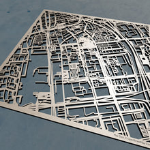 Load image into Gallery viewer, TU Delft 3D Wooden Laser Cut Campus Map | Unique Gift - Silvan Art