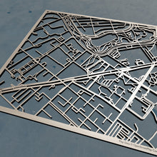 Load image into Gallery viewer, MassArt Massachusetts College of Art and Design 3D Wooden Laser Cut Campus Map | Unique Gift - Silvan Art