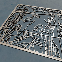 Load image into Gallery viewer, UMass Worcester 3D Wooden Laser Cut Campus Map | Unique Gift