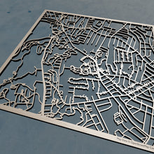 Load image into Gallery viewer, Worcester State University 3D Wooden Laser Cut Campus Map | Unique Gift - Silvan Art