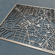 Load image into Gallery viewer, American University 3D Wooden Laser Cut Campus Map | Unique Gift