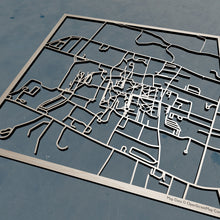 Load image into Gallery viewer, University of Rhode Island URI  3D Wooden Laser Cut Campus Map | Unique Gift