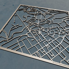Load image into Gallery viewer, Washington and Lee University 3D Wooden Laser Cut Campus Map