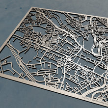 Load image into Gallery viewer, Salford England - 3D Wooden Laser Cut Map | Unique Gift