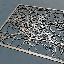 Load image into Gallery viewer, Aix-en-Provence France - 3D Wooden Laser Cut Map | Unique Gift