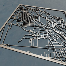 Load image into Gallery viewer, Saint Anselm College 3D Wooden Laser Cut Campus Map | Unique Gift - Silvan Art
