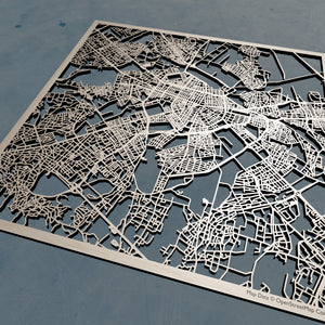 Sophia Bulgaria - 3D Wooden Laser Cut Map | Unique Gift