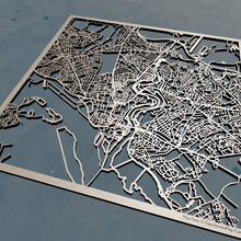 Load image into Gallery viewer, Southampton England - 3D Wooden Laser Cut Map | Unique Gift
