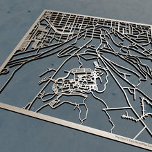 Load image into Gallery viewer, Ithaca College 3D Wooden Laser Cut Map | Unique Gift - Silvan Art