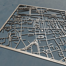 Load image into Gallery viewer, University of Edinburgh 3D Wooden Laser Cut Campus Map - Silvan Art