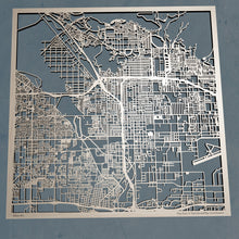 Load image into Gallery viewer, San Bernardino, California - 3D Wooden Laser Cut Map | Unique Gift