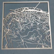 Load image into Gallery viewer, CUHK Chinese University of Hong Kong 3D Wooden Laser Cut Campus Map | Unique Gift - Silvan Art