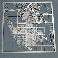 Load image into Gallery viewer, Oxnard, California - 3D Wooden Laser Cut Map | Unique Gift