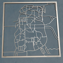 Load image into Gallery viewer, Hampshire College 3D Wooden Laser Cut Campus Map | Unique Gift - Silvan Art